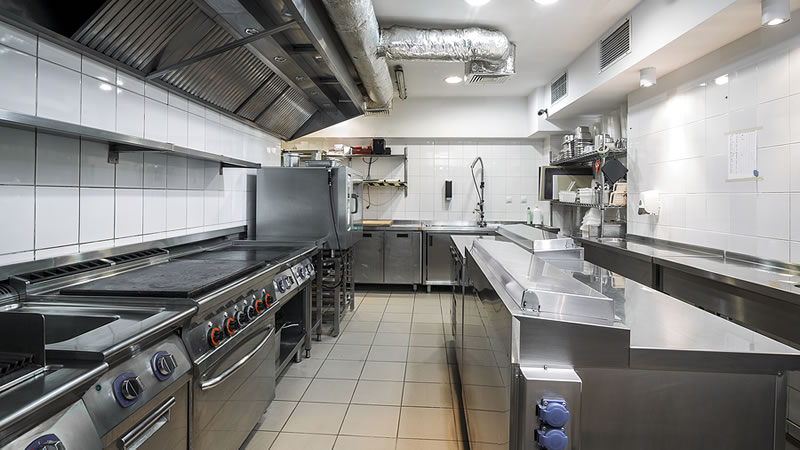 Commercial Kitchen Hot Side Food Equipment Repair